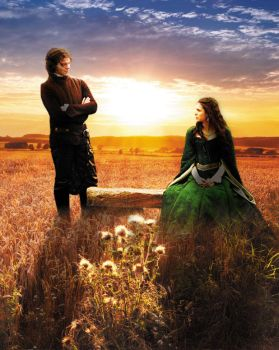 Katherine and Elijah in one field by loulou61amy