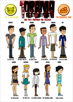 Total Drama Best Wishes by gus-val
