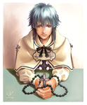 Exorcist Aoba by chienu