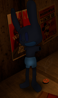 Five Nights At Treasure Island: Oswald by MikaMilaCat