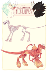 All About Flowerlings - Underlying Anatomy by mute-owl