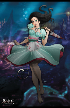 Alice:Madness Returns by chalice29