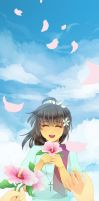 Sky Made by Your Smile by Siripikan