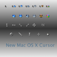 New Mac OS X Cursor by mercury21
