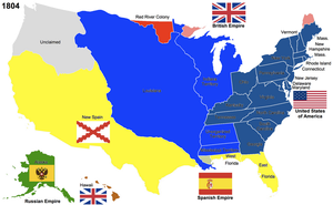 The United States, 1804 by Hillfighter