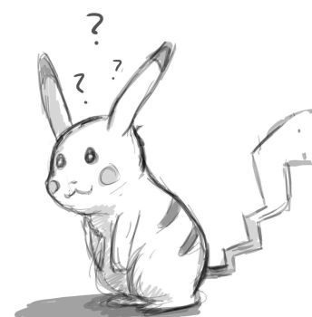 Pikachu Exclamation Point by angrystar