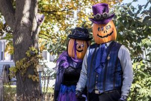 Gourdon and Zuccia Pumpkinhead in 2015 by Windthin