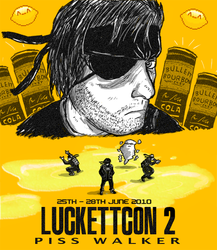 LUCKETTCON 2 - Piss Walker by luckettx