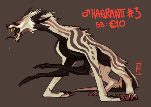 Hagranti #3 AUCTION 2018-05-27 by LiLaiRa