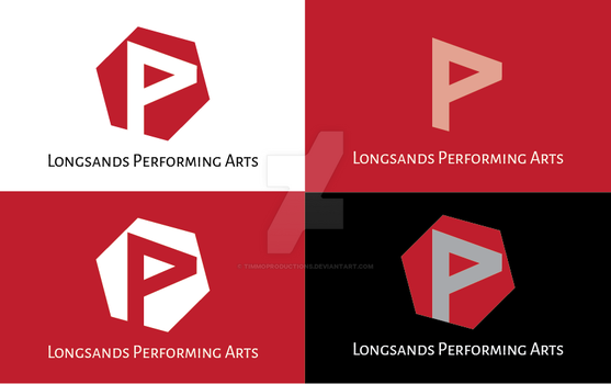 Longsands Performing Arts logo by timmoproductions