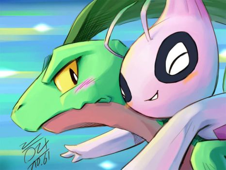 Oh my dear, Grovyle by aun61