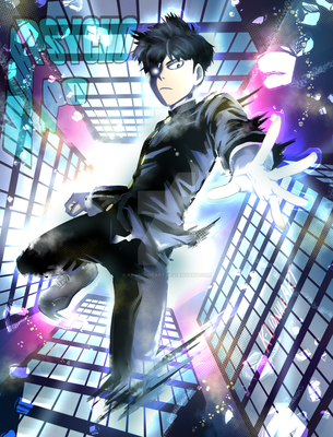 Mob Psycho 100 by KP-Lionheart