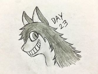 Inktober Day 23 by Revenir-Ghoul