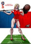 Harley Quinn FIFA World Cup 2018 by Diego-SSA