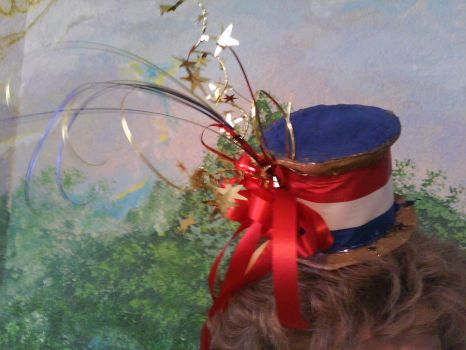 Fireworks galore mini top hat by avrilfan1316