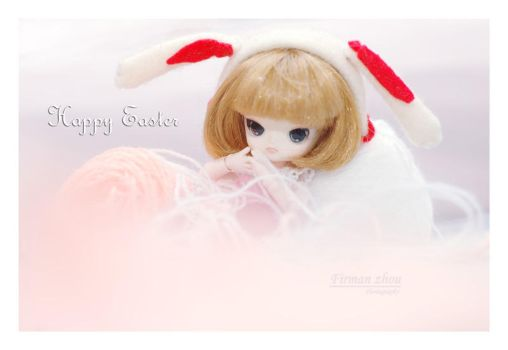 Luci  - Happy easter 01 by firmanzhou
