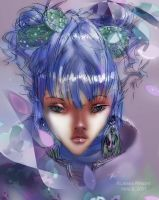 Goddess of Lavender by fromseatoshiningsea
