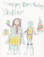 Happy Birthday Yinller by reneejoelle