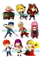 Fate Stickers by rachelmon