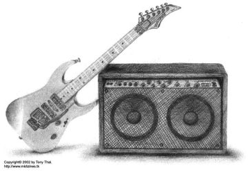 Guitar and Amp by midiman