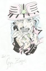 Gyro Zeppeli by AngieInes