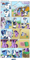 Comic - Twilight's First Day #8 by muffinshire