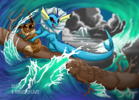 Out Race the Storm by forgotten-light