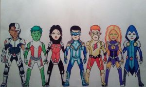 Titans (DC Nation) by KingCozy7