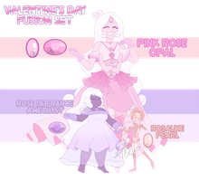 Valentine's Day Fusion Set 1 (CLOSED) by OriSODEhime