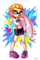 Inkling Girl by Suncelia