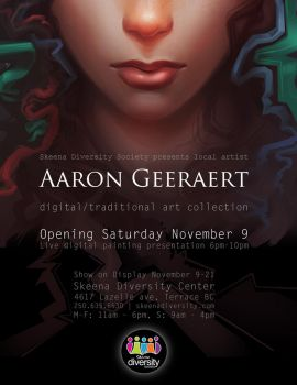 Upcoming show - November 9th in Terrace BC by AaronGeeraert