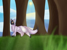 [AT] A Walk in the Woods by scarlet--shade