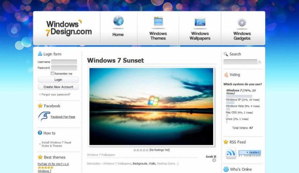 Windows 7 Design by guistyles