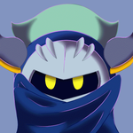 Extra Glitch-Commission Meta Knight by Birdon14