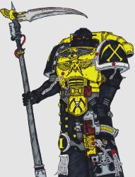 Veteran Marine, Scythes of the Emperor Chapter by terraluna5