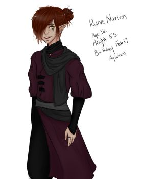 Rune Narien [Redesign] by ElvenBby