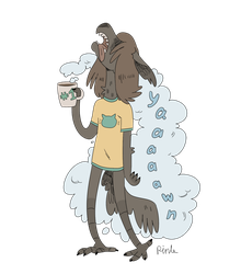 Cup of morning or good koffie nyes by PinLe