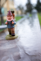 Blurry Path Gnome by thedustyphoenix