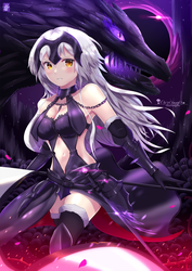 Jeanne d'Arc Alter by chinchongcha