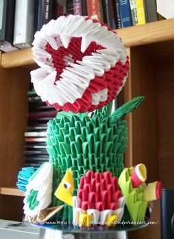 Piranha Plant Angle - 3DO by o0DreamMyst0o