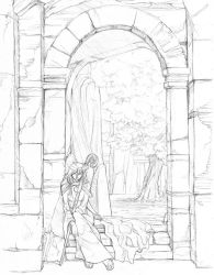 Resting in the Gateway by hibbary
