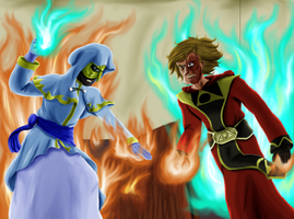 War of the Mages by Psi-Baka-Onna