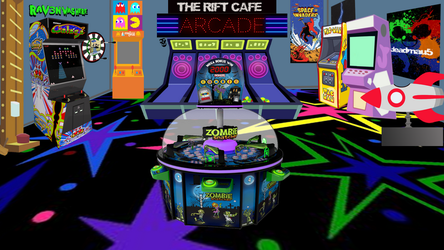 The Rift Cafe Arcade Right Side View by BlueRav3Pony