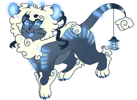 [CLOSED] Luminescent Tiger adoptable auction by orinkuu