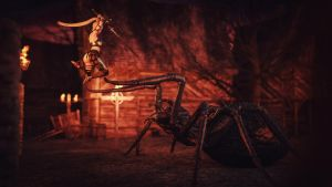 [DAZ3D] - Arachnophobia by PSK-Photo