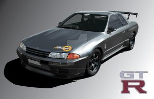 Nissan Skyline GTR R32 by ChineseWarri0r