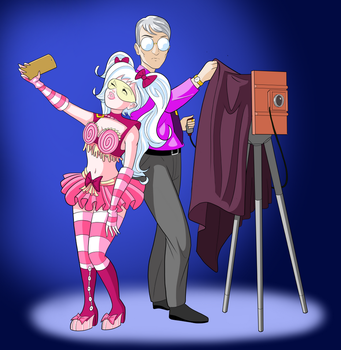 Candykate and the Cameraman by DinaMNealey