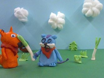 That claymation by supahappysunshine