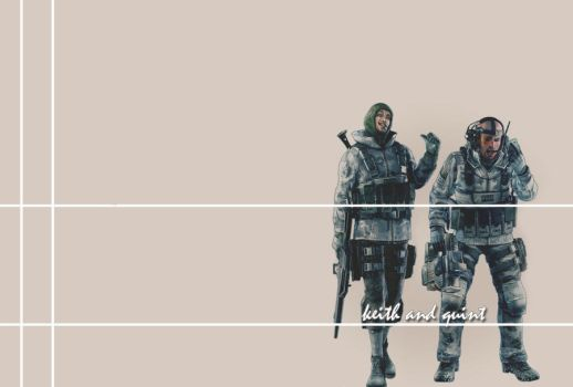Keith and Quint wallpaper by VIOLET-2010