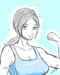 Wii fit trainer simple by borockman